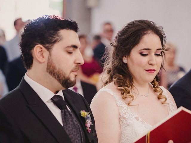 La boda de Rubén y Flor en Puertollano, Ciudad Real 50