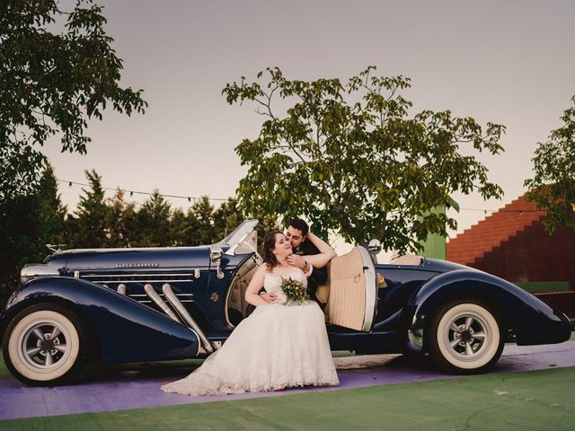 La boda de Rubén y Flor en Puertollano, Ciudad Real 65