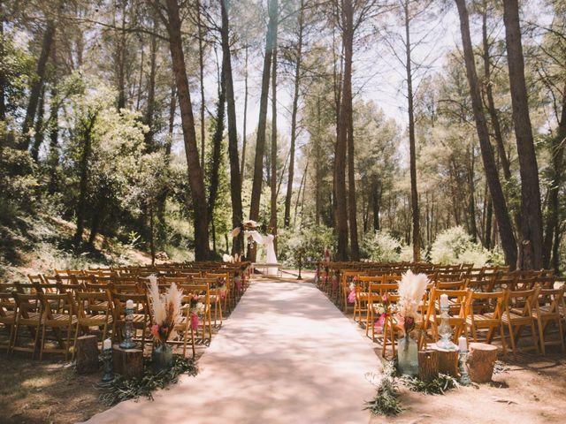 La boda de Christel y Guille en Castelladral, Barcelona 2