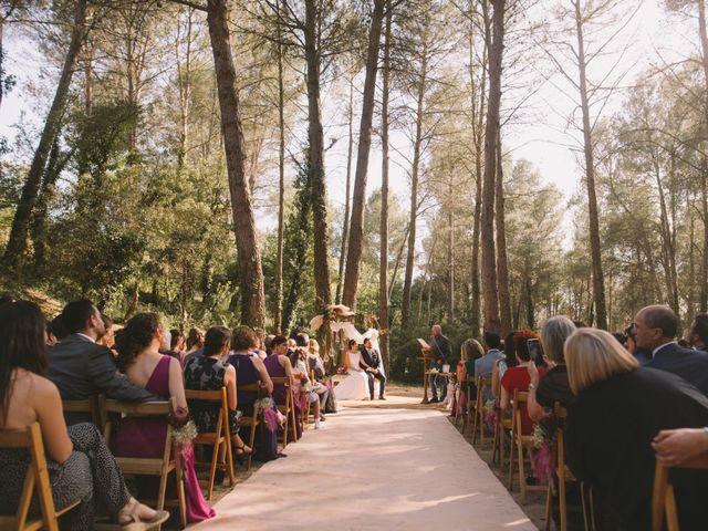 La boda de Christel y Guille en Castelladral, Barcelona 8