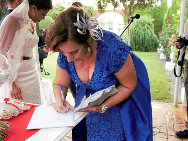 La boda de Hector y Sanaa en Purchil, Granada 25