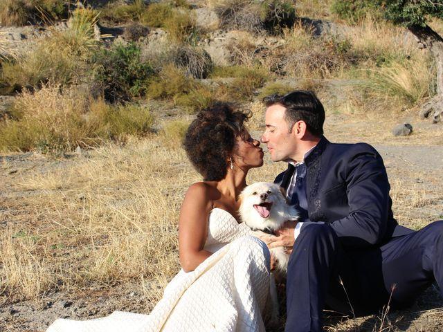 La boda de Hector y Sanaa en Purchil, Granada 34