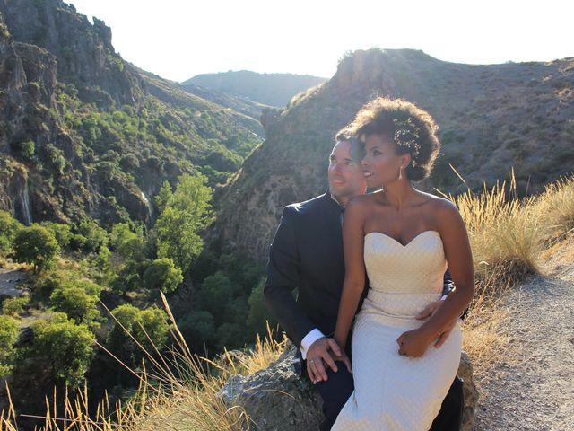 La boda de Hector y Sanaa en Purchil, Granada 1