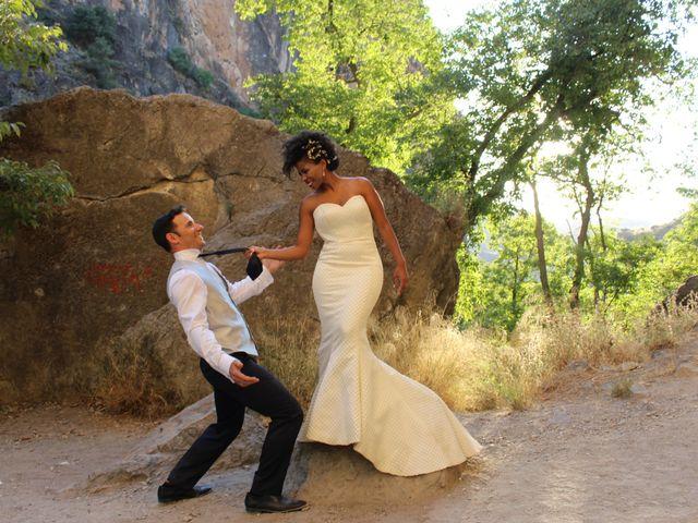 La boda de Hector y Sanaa en Purchil, Granada 36
