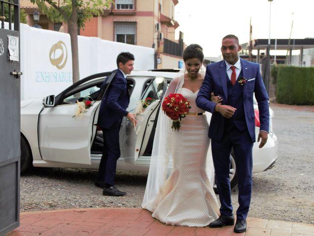 La boda de Hector y Sanaa en Purchil, Granada 43