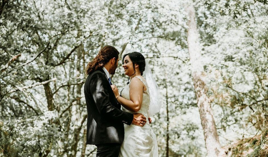 La boda de Marcos y Vanessa en Oseira, Orense