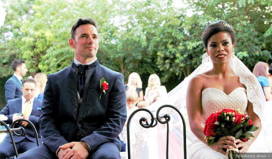 La boda de Hector y Sanaa en Purchil, Granada