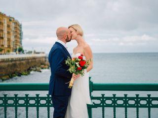La boda de Zara y Michael