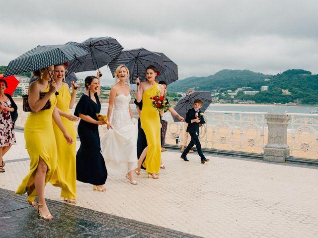 La boda de Michael y Zara en Donostia-San Sebastián, Guipúzcoa 38