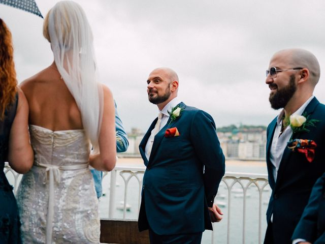 La boda de Michael y Zara en Donostia-San Sebastián, Guipúzcoa 45