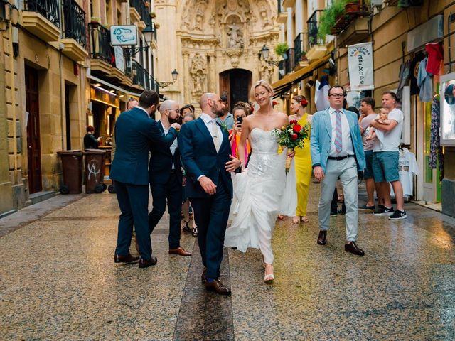 La boda de Michael y Zara en Donostia-San Sebastián, Guipúzcoa 58