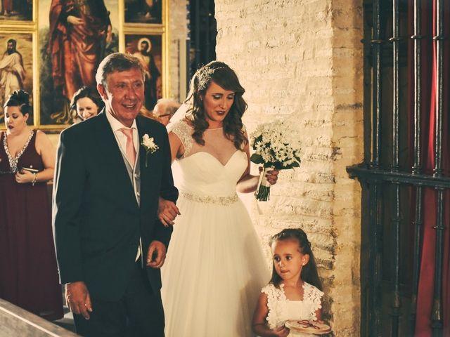 La boda de Jose y Tamara en Salteras, Sevilla 39