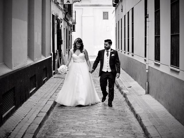 La boda de Jose y Tamara en Salteras, Sevilla 69