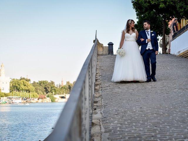 La boda de Jose y Tamara en Salteras, Sevilla 74