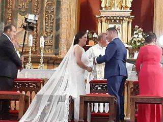 La boda de Alba García  y Angel Jesus Carretero 1