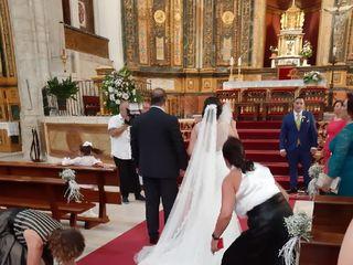 La boda de Alba García  y Angel Jesus Carretero 2