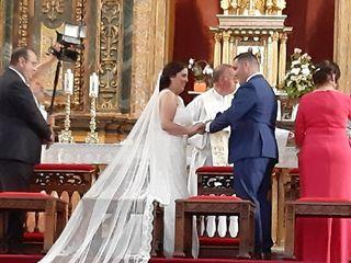 La boda de Alba García  y Angel Jesus Carretero 3