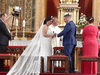 La boda de Alba García  y Angel Jesus Carretero