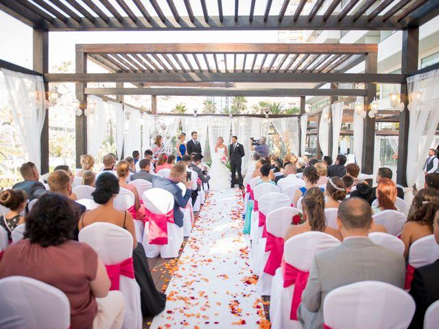 La boda de Akoran y Yessica en Puerto De La Cruz, Santa Cruz de Tenerife 10