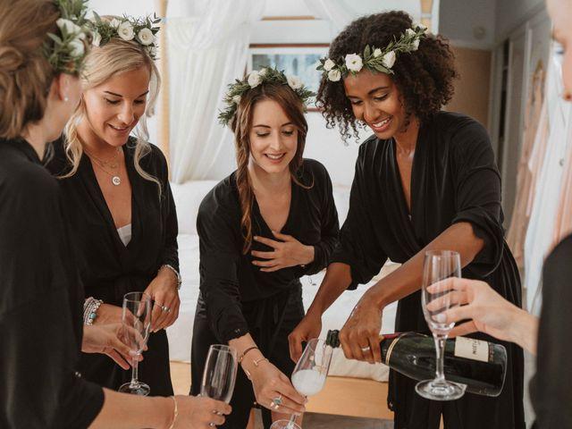 La boda de Naim y Aurélie en Eivissa, Islas Baleares 1
