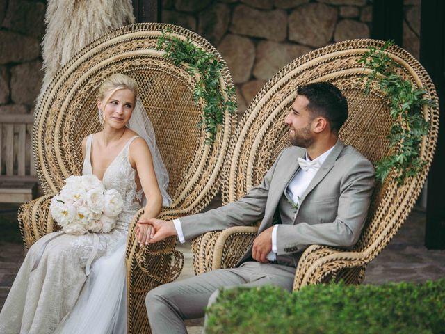 La boda de Naim y Aurélie en Eivissa, Islas Baleares 14