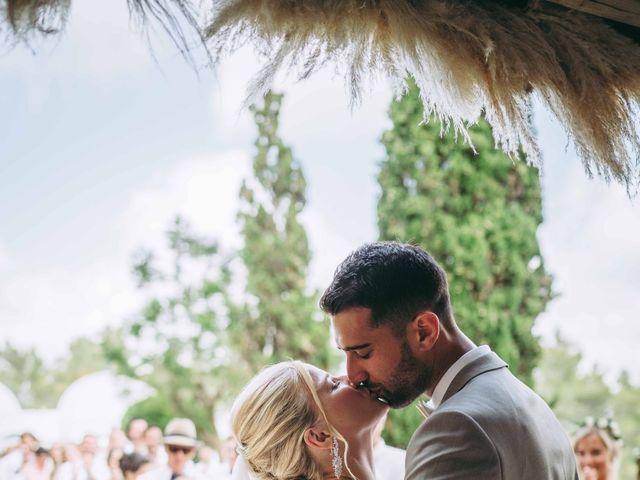 La boda de Naim y Aurélie en Eivissa, Islas Baleares 18