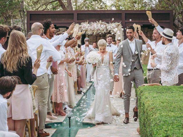 La boda de Naim y Aurélie en Eivissa, Islas Baleares 19