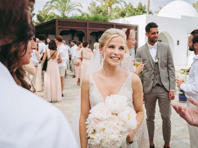La boda de Naim y Aurélie en Eivissa, Islas Baleares 20