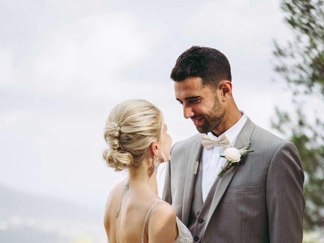 La boda de Naim y Aurélie en Eivissa, Islas Baleares 24