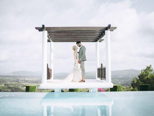 La boda de Naim y Aurélie en Eivissa, Islas Baleares 28