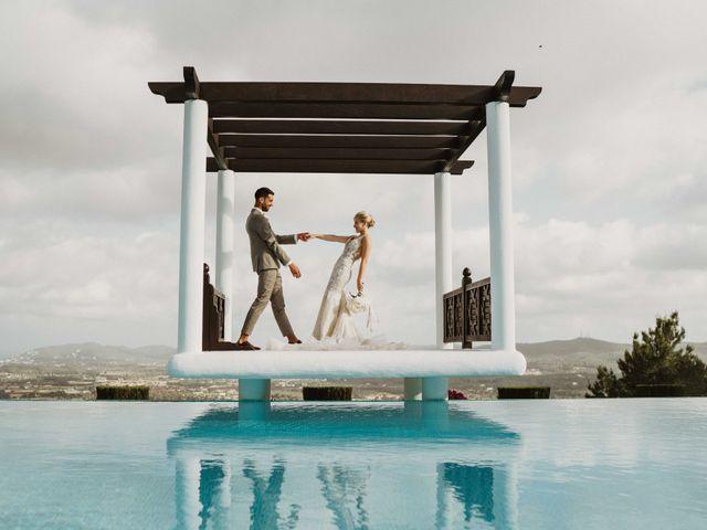 La boda de Naim y Aurélie en Eivissa, Islas Baleares 29