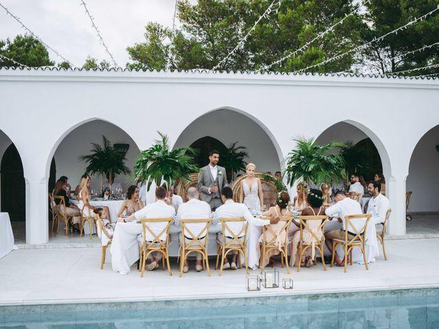 La boda de Naim y Aurélie en Eivissa, Islas Baleares 36