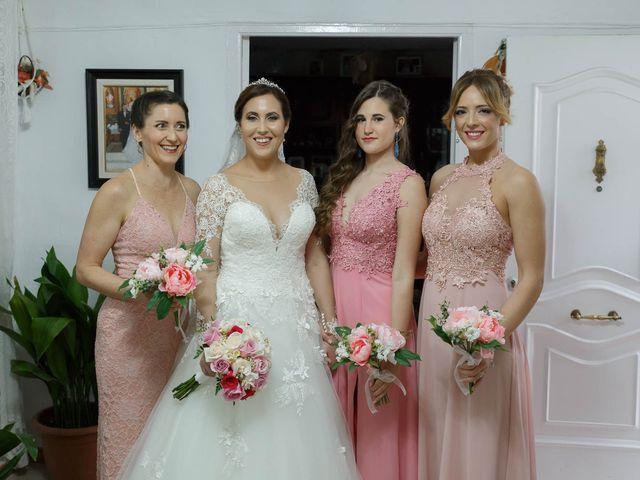 La boda de Dariel y Vanesa  en Villanueva Del Rosario, Málaga 1
