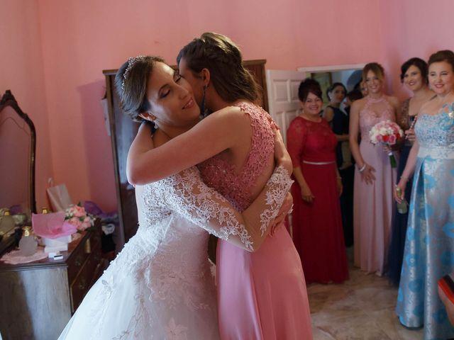 La boda de Dariel y Vanesa  en Villanueva Del Rosario, Málaga 15