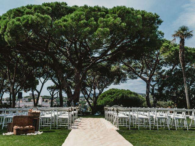 La boda de Jon y Caren en S'agaro, Girona 2