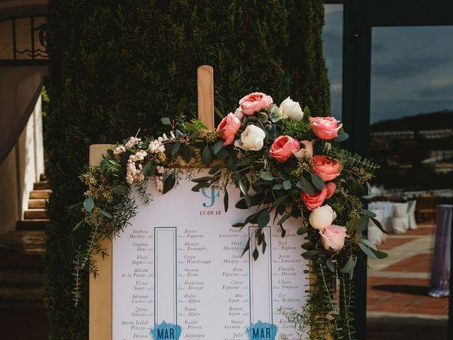 La boda de Jon y Caren en S'agaro, Girona 11