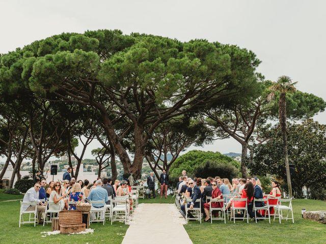 La boda de Jon y Caren en S'agaro, Girona 32