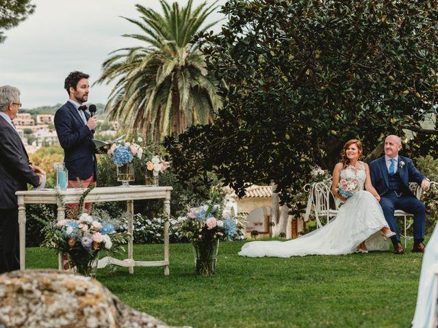 La boda de Jon y Caren en S'agaro, Girona 35