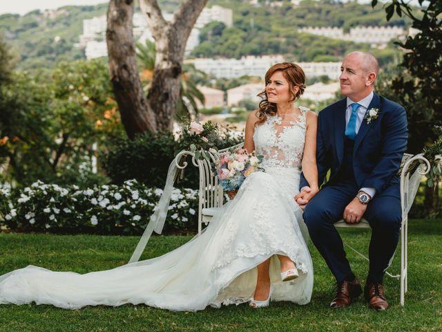 La boda de Jon y Caren en S'agaro, Girona 37