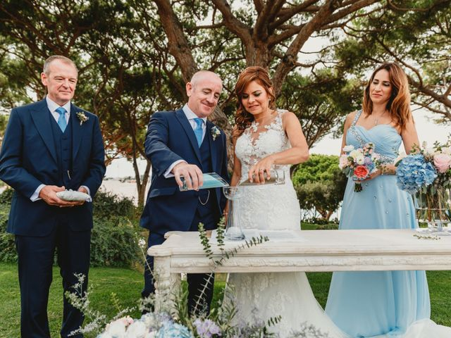 La boda de Jon y Caren en S'agaro, Girona 39