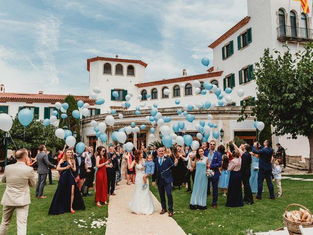 La boda de Jon y Caren en S'agaro, Girona 45