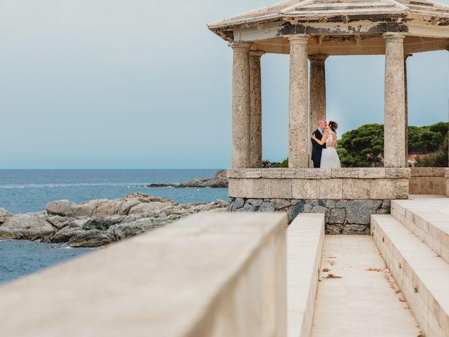 La boda de Jon y Caren en S'agaro, Girona 54