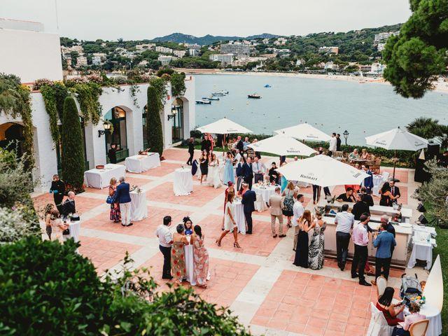 La boda de Jon y Caren en S'agaro, Girona 65