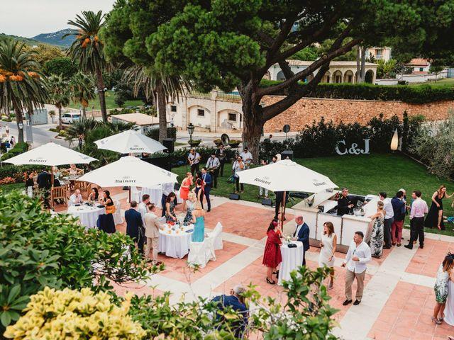 La boda de Jon y Caren en S'agaro, Girona 66