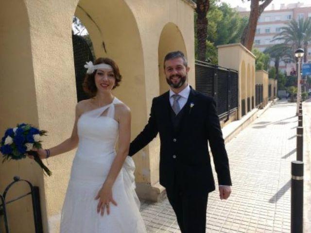 La boda de Santiago y Mar  en Crevillente, Alicante 1
