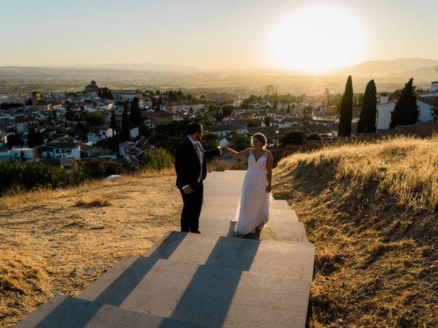 La boda de Iván y Beatriz en Granada, Granada 74