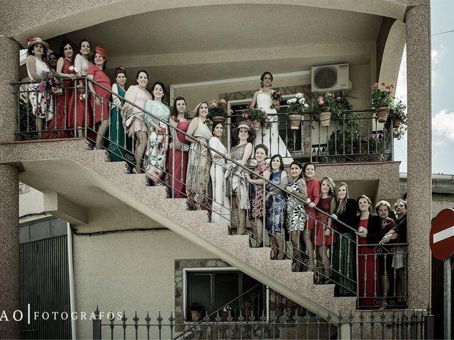 La boda de Luis Miguel y Sandra en Orce, Granada 1