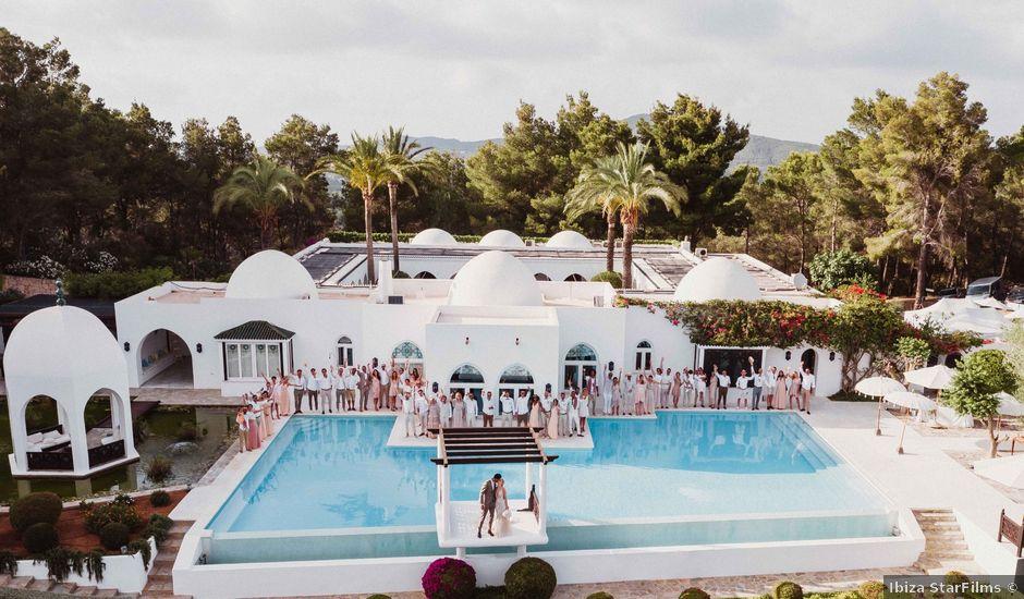 La boda de Naim y Aurélie en Eivissa, Islas Baleares
