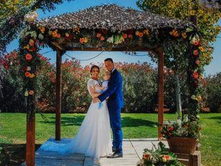 La boda de Rebeca y Rubén