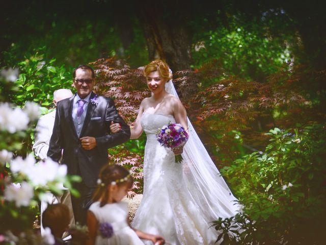 La boda de Jesús y Estela en Valdastillas, Cáceres 25